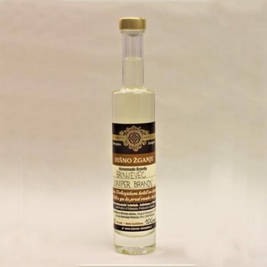 Hišno žganje - brinjevec (100 ml, 350 ml ali 500 ml)