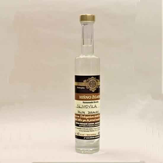 Hišno žganje - slivovka (50 ml, 100 ml, 350 ml ali 500 ml)-Žganje
