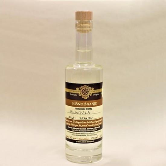 Hišno žganje - slivovka (50 ml, 100 ml, 350 ml ali 500 ml)