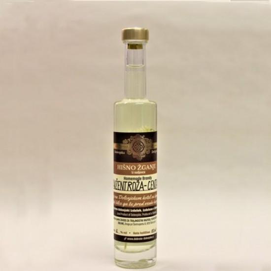 Hišno žganje s tavžentrožo (50 ml, 100 ml, 350 ml ali 500 ml)