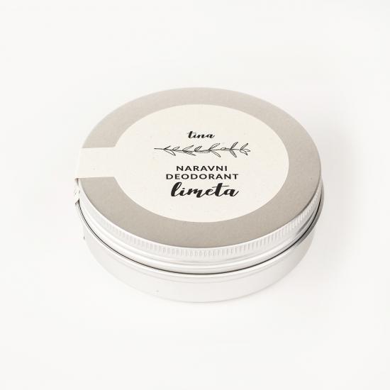 Naravni deodorant limeta (50 ml ali 70 ml)-Naravna kozmetika