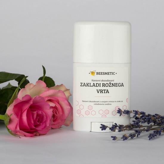 Zakladi rožnega vrta - deodorant z vonjem vrtnice 50 ml