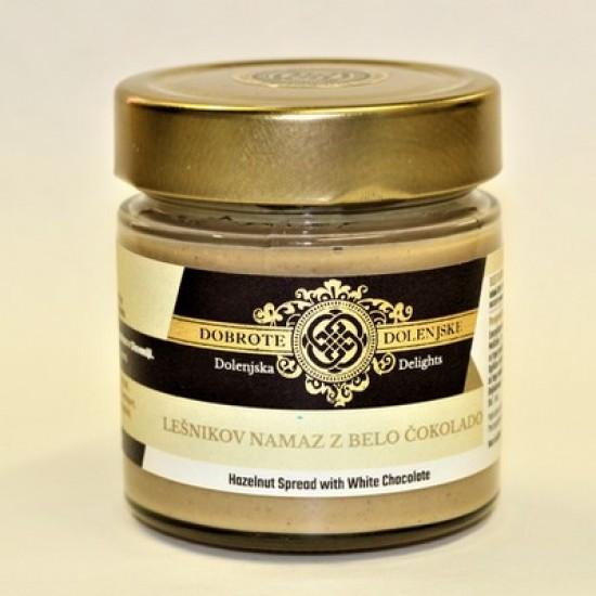 Lešnikov namaz z belo čokolado 200 g