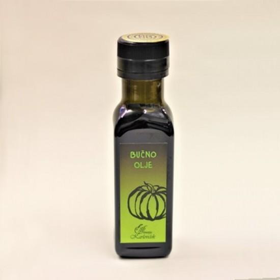 Bučno olje (0,1 l, 0,25 l ali 0,75 l)-Kis in olje