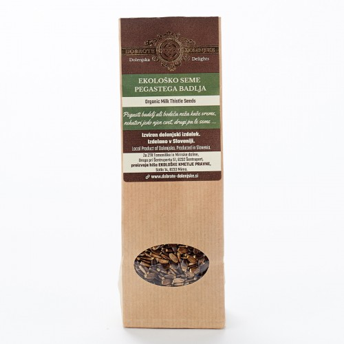 Hišno ekološko seme pegastega badlja 100 g