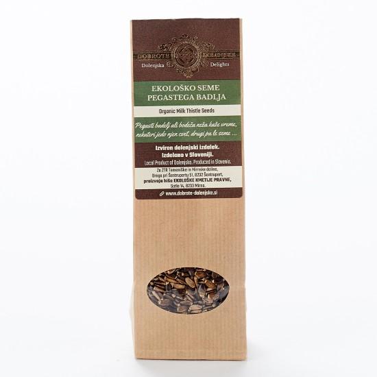 Hišno ekološko seme pegastega badlja 100 g-Oreščki in semena