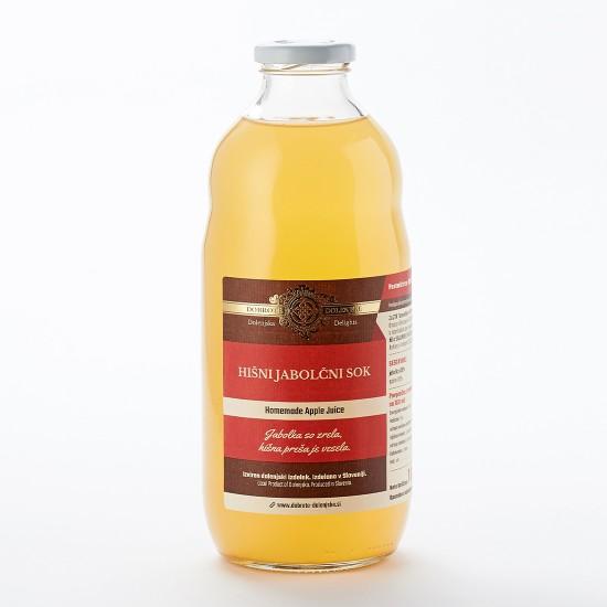 Hišni motni jabolčni sok 1 l-Sadni sokovi