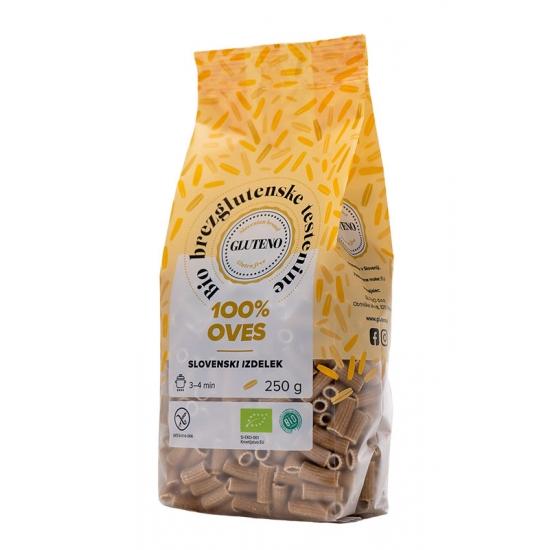 Bio brezglutenske testenine 100% OVES-Žitni izdelki in testenine