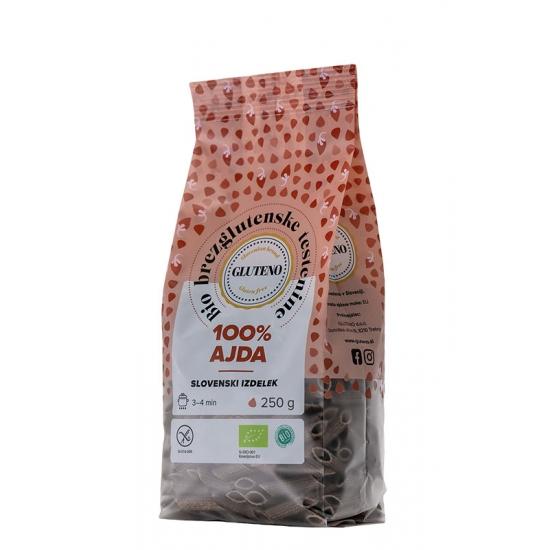 Bio brezglutenske testenine 100% AJDA 25-Žitni izdelki in testenine