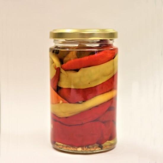 Hišni vloženi sladki feferoni 335 g-Vložnine