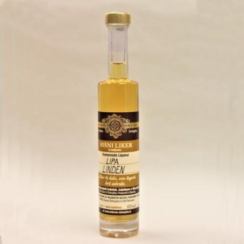 Hišni lipov liker (100 ml, 350 ml ali 500 ml)