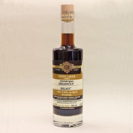 Hišni orehov liker (50 ml, 100 ml, 350 ml ali 500 ml)