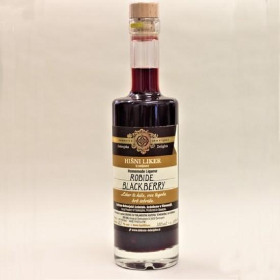 Hišni robidov liker (100 ml, 350 ml ali 500 ml)