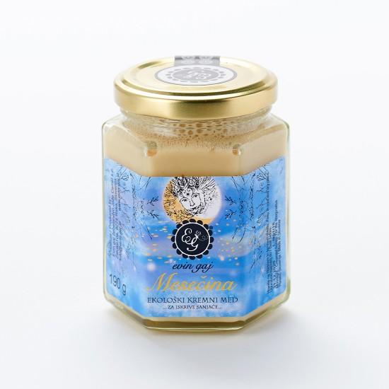 Mesečina - ekološki kremni med (45 g, 100 g ali 190 g)-Med