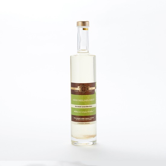 Hišni melisin sirup (0,5 l ali 1 l)-Zeliščni sokovi