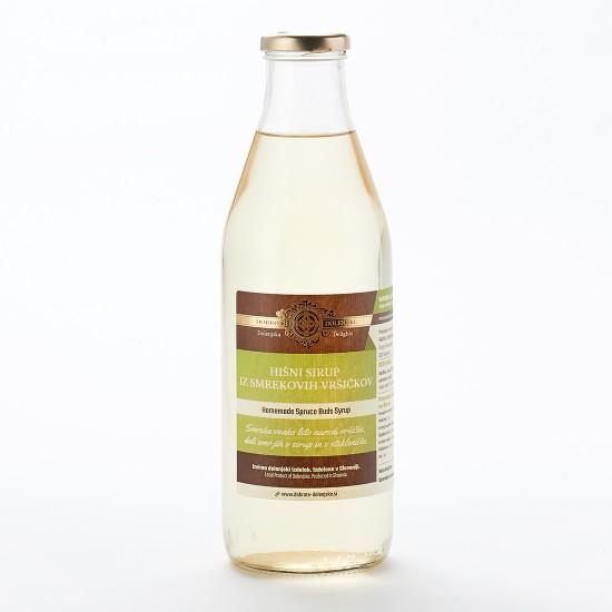 Hišni sirup iz smrekovih vršičkov (0,5 l ali 1 l)-Zeliščni sokovi