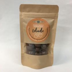 Lelade - praženi lešniki obliti s čokolado 80 g