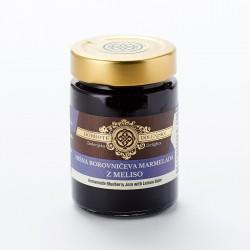 Hišna borovničeva marmelada z meliso 190 g