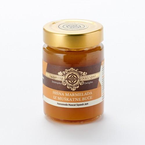 Hišna marmelada iz muškatne buče 190 g