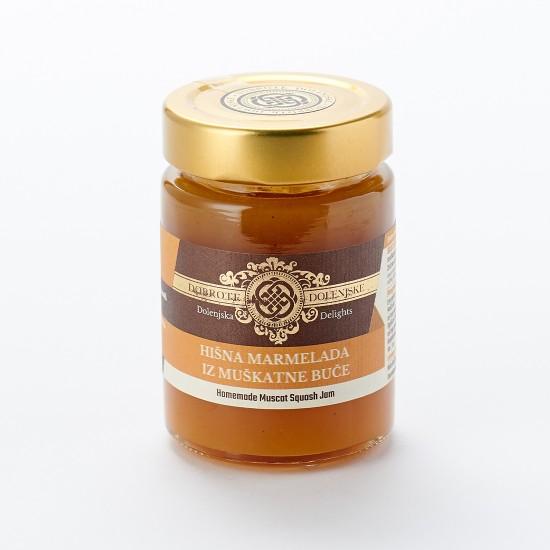 Hišna marmelada iz muškatne buče 190 g-Marmelade