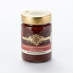 Hišna slivova marmelada s čokolado 190 g