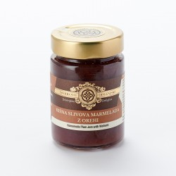 Hišna slivova marmelada z orehi 190 g