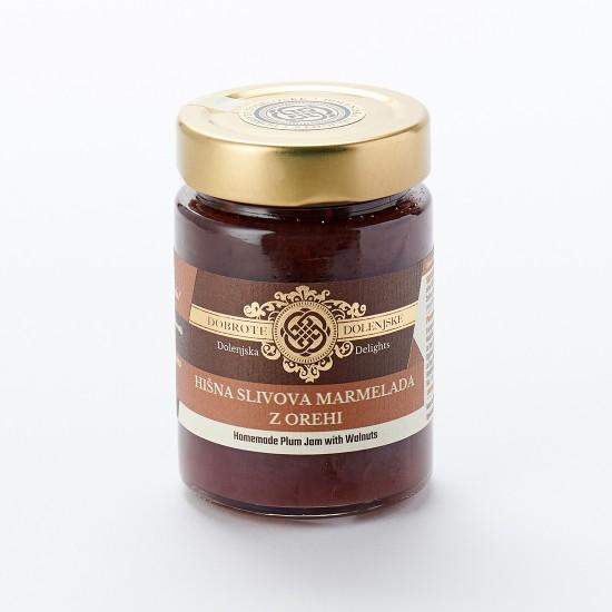 Hišna slivova marmelada z orehi 190 g   -Marmelade