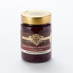 Hišna višnjeva marmelada s cimetom 190 g