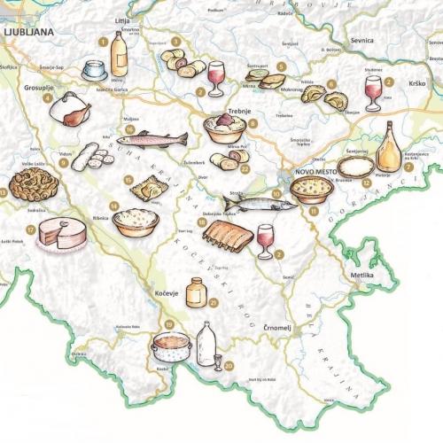 Kulinarični zemljevid