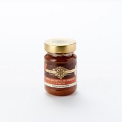 Hišna breskova marmelada z meto 190 g