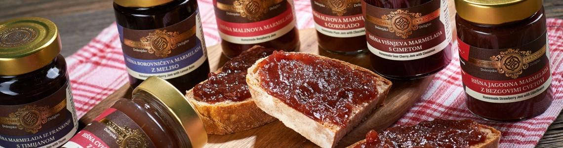 Marmelade in sladki namazi